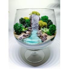 Флорариум  Бокал Водопад
