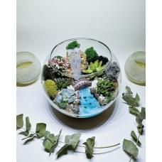 Флорариум Водопад шар 5 литров