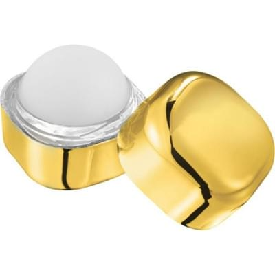 Купить Гигиеническая помада для губ Rolli в металлическом солнцезащитном кубе, золотистый за 262р. Доставка по всей стране
