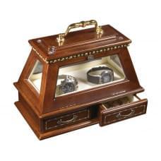 Шкатулка для часов Герцог, коричневый