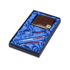 Набор William Lloyd: портмоне, ручка шариковая, лупа, нож для бумаг Принц Уэльский