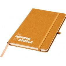 Be Inspired блокнот из остатков кожного производства, коричневый