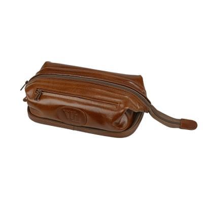 Купить Несессер кожаный William Lloyd, коричневый за 7310р. Доставка по всей стране