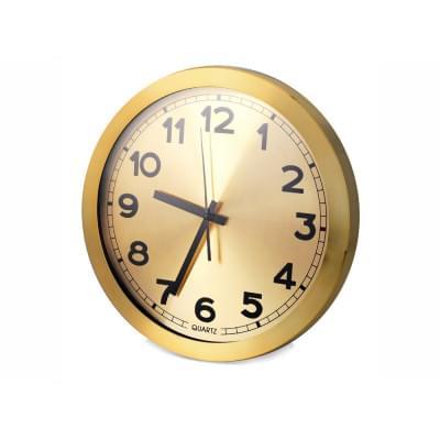 Купить Часы настенные Кларк, золотистый за 682р. Доставка по всей стране