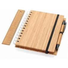 Канцелярский набор Franklin из бамбука, натуральный